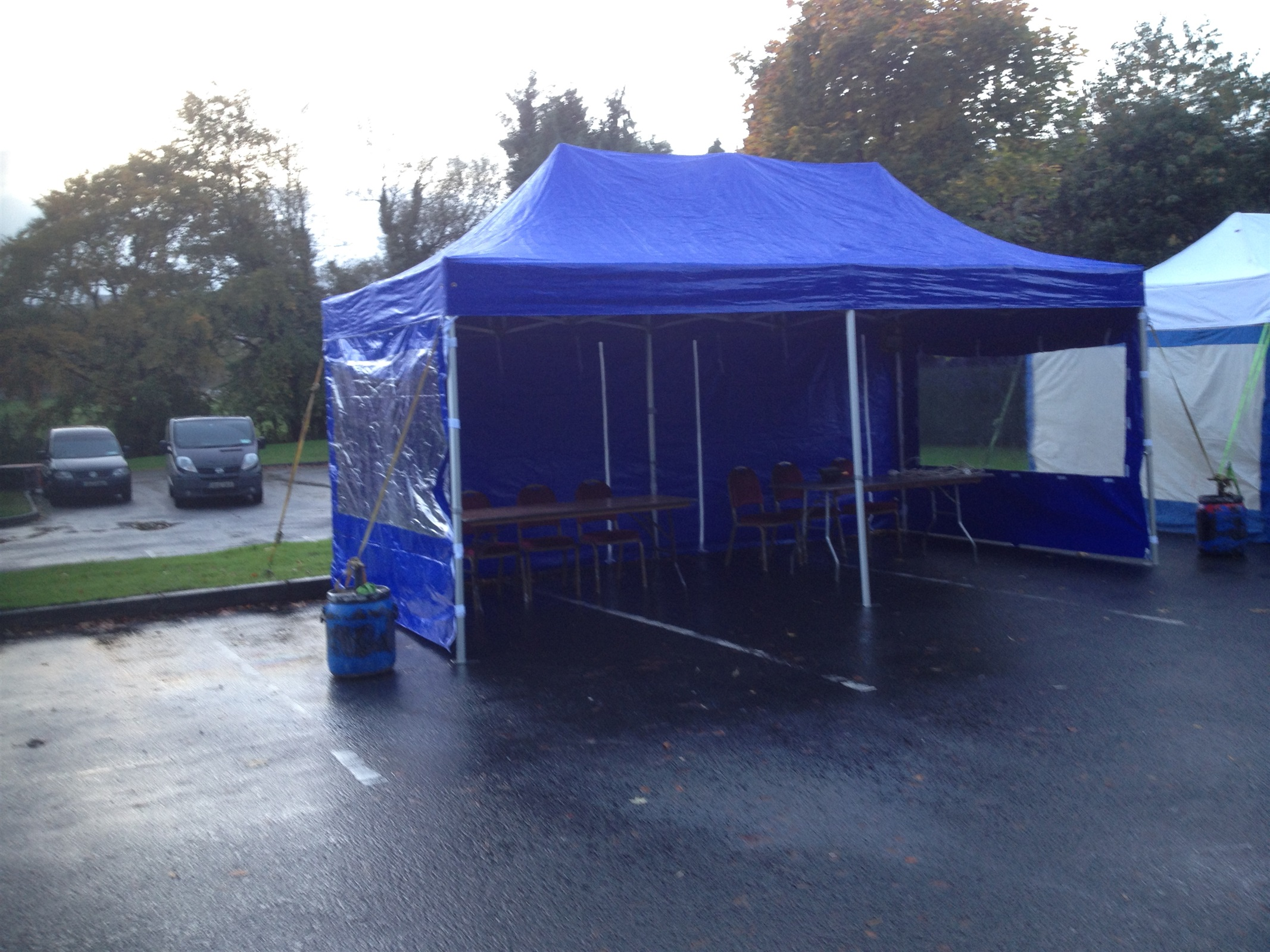 wedding chair covers hire northern ireland blue slipcovers marquee bouncy castle in omagh