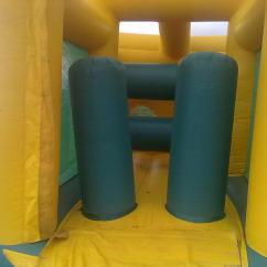 Wedding Chair Covers Hire Northern Ireland Marcel Breuer Repair 45ft X 12ft Assault Course Bouncy Castle Marquee