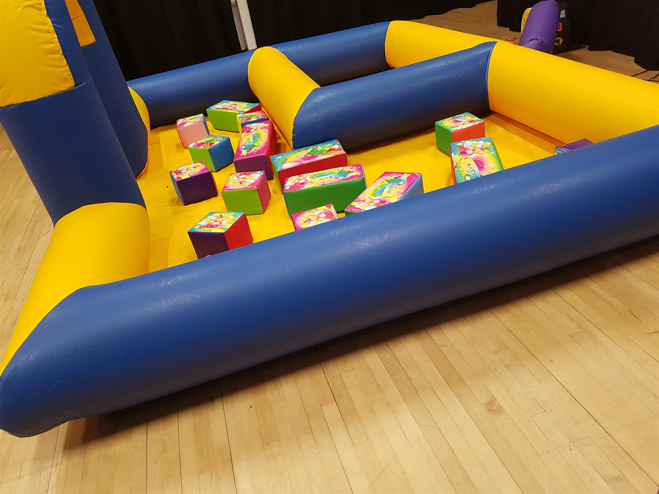 chair cover hire leicestershire outdoor folding table and chairs soft play bouncy castle in coalville ibstock