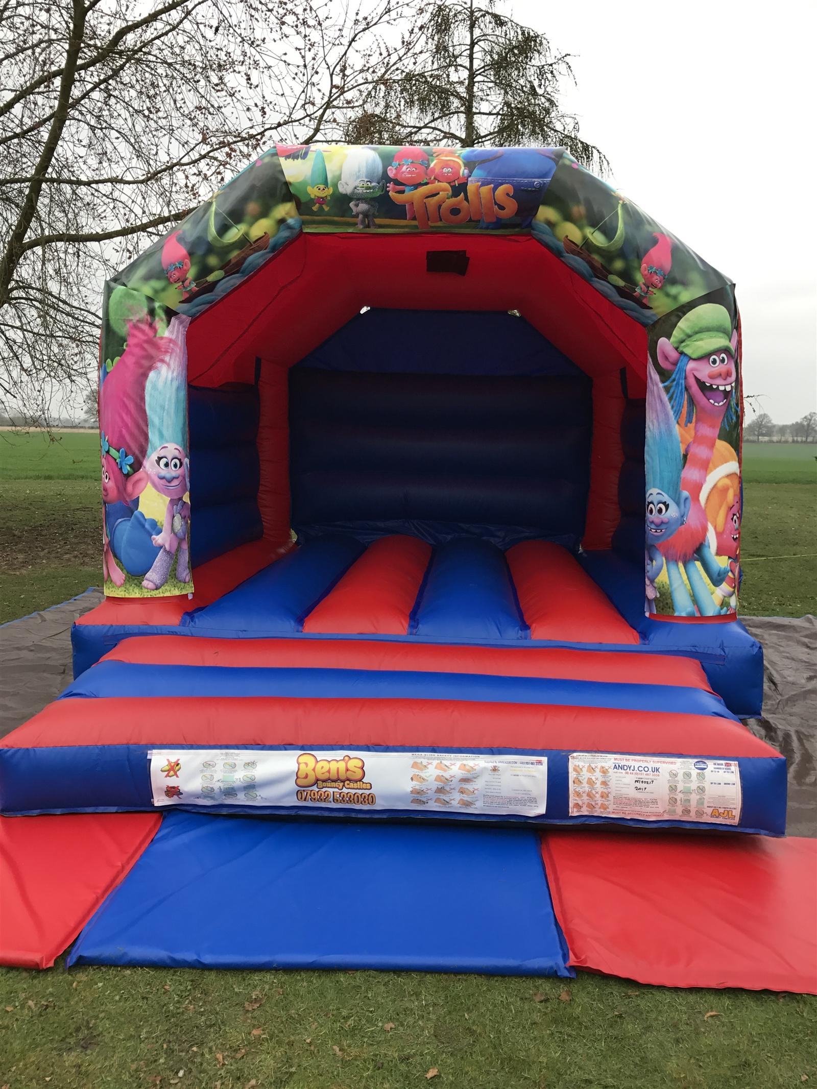 chair cover hire hemel hempstead collapsible garden chairs bouncy castle castles