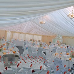 Chair Cover Hire North Wales Best For Console Gaming 9x21 Meter Fusion Marquee Bouncy Castle In