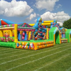 Inflatable Chairs For Adults Pottery Barn Chair Cushions (65ft X 25ft) Giant Funfair Activity Run - Bouncy Castle Hire & More In Harlow, Essex ...
