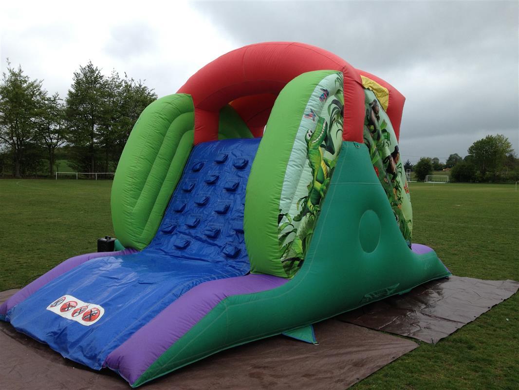 chair cover hire hemel hempstead wheelchair getaways air jungle slide bouncy castle castles