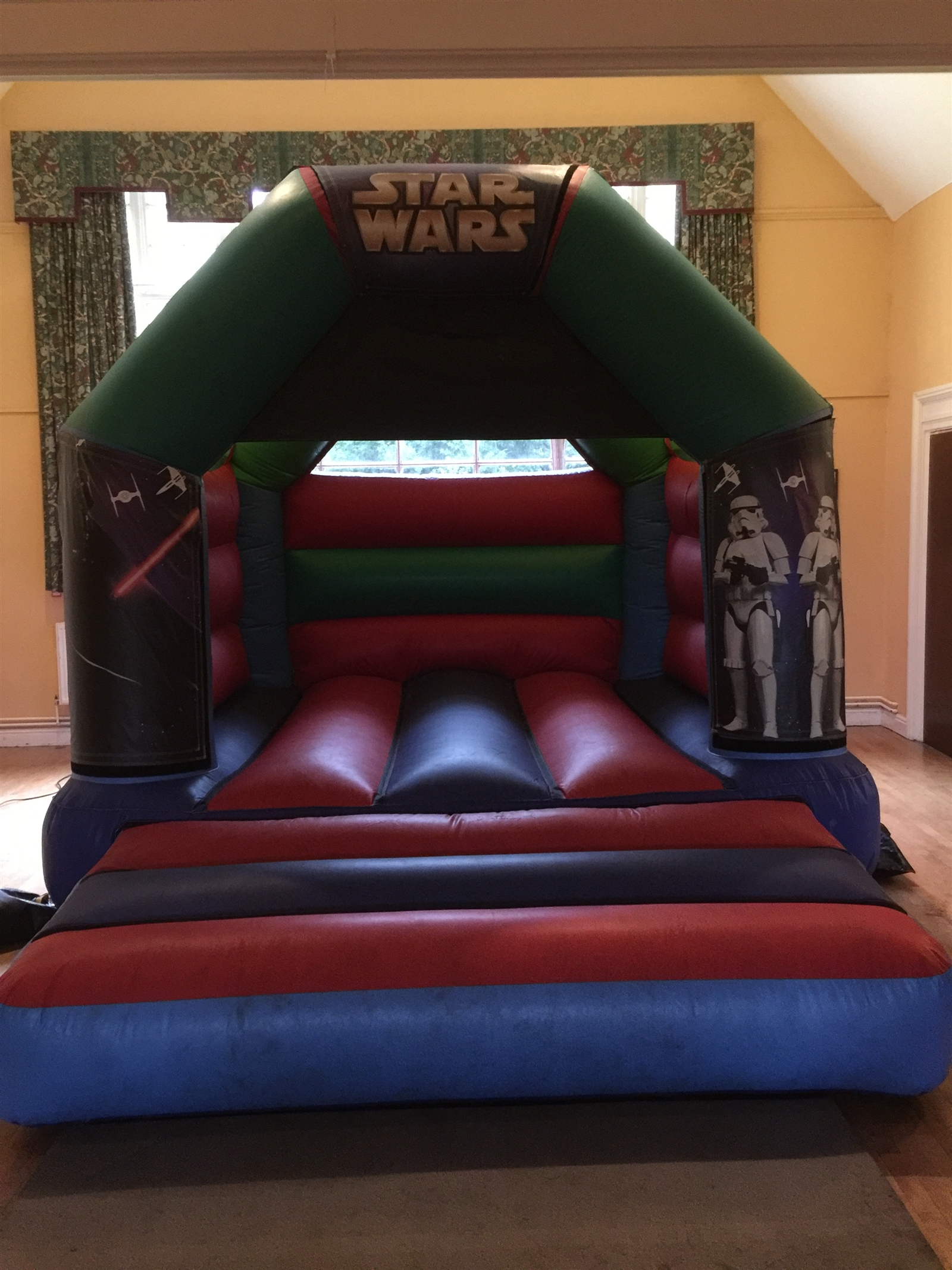 chair cover hire in birmingham sure fit slipcovers childrens bouncy castles castle coventry