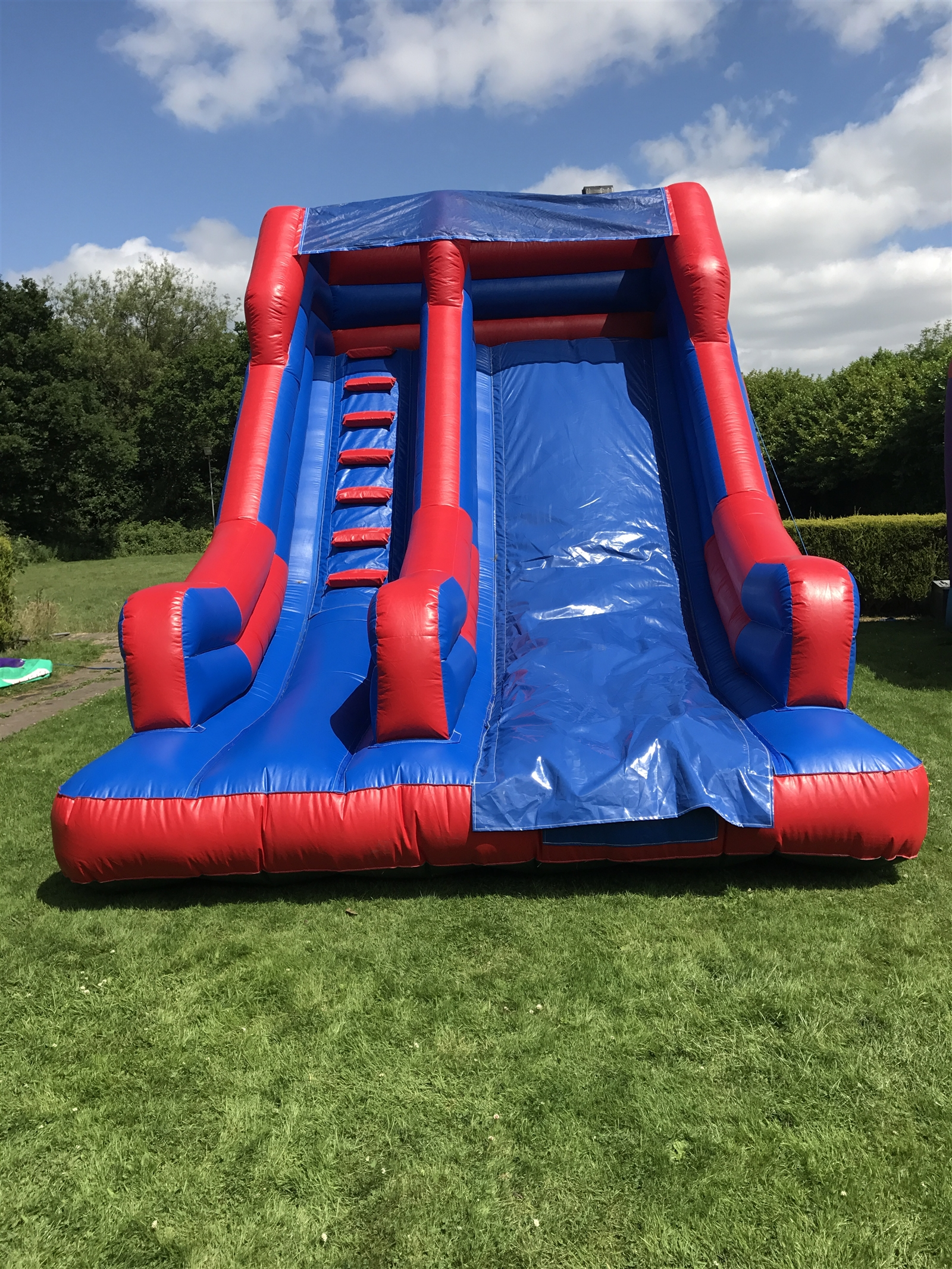 chair cover hire birmingham uk covers in amazon inflatable slides bouncy castle coventry