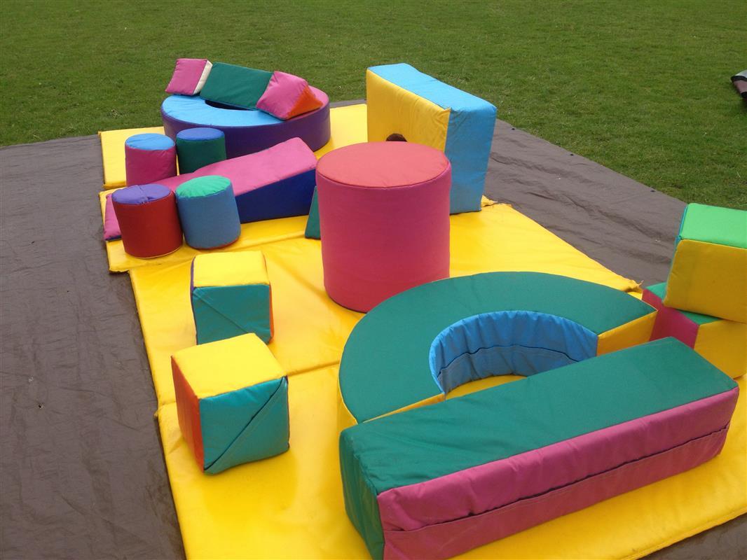 large soft play set