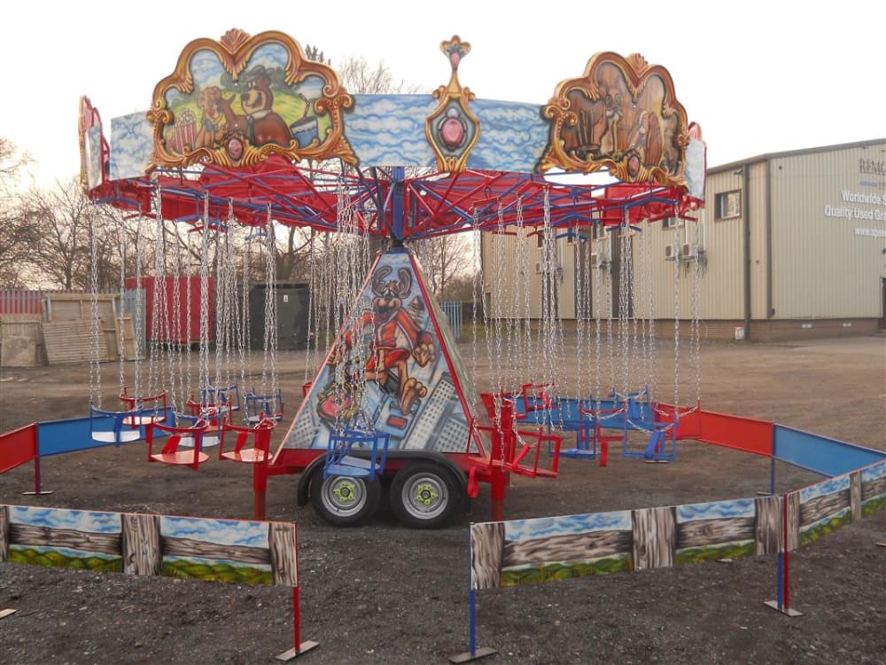 swing chair hire lightweight travel beach chairs uk o plane ride bouncy castle in leeds and bradford
