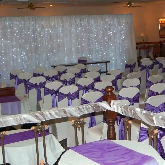 hire chair covers glasgow target tufted bouncy castle in motherwell lanarkshire