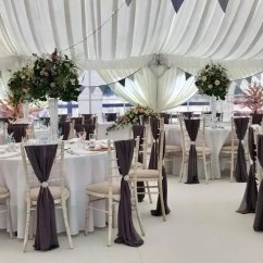 Wedding Chair Cover Hire Pembrokeshire Modern Outdoor Swing Marquee Bouncy Castle In Milford Haven Table