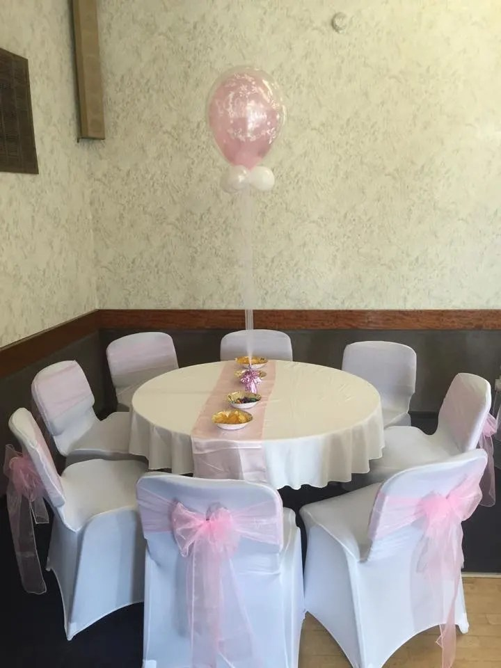 chair cover and sash hire glasgow wedding covers ayrshire table bouncy castle face painting in bows