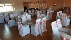 chair cover hire ellesmere port geriatric rental covers and saches bouncy castle in cheshire details suitability an sashes