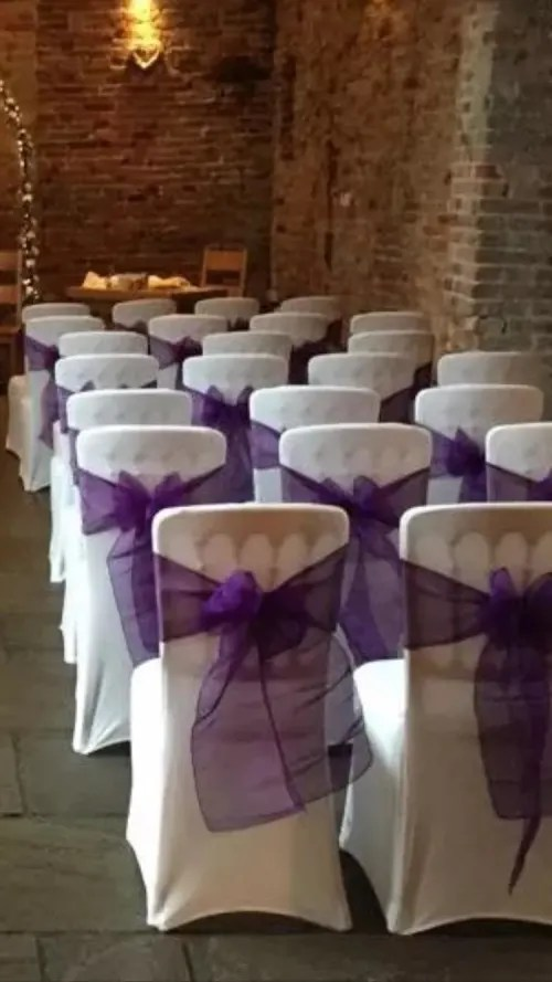 chair cover and sash hire birmingham ideas for party wedding event supplies bouncy castle in wythall solihull 100 x covers colour sashes