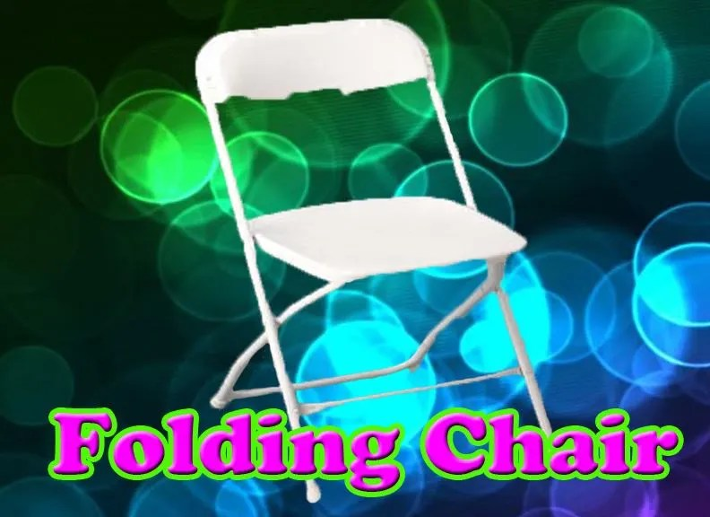 chair rentals sacramento sleeper chairs for small spaces white folding rental
