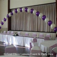 Wedding Chair Cover Hire Cannock Open Air Repair Balloon Archway Set Up Over 3 Tables Or 8 Chairs Bouncy Castles Soft Play In Wolverhampton West Mids Walsall Bilston