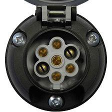 7 Pin 12(S) Electrical Socket