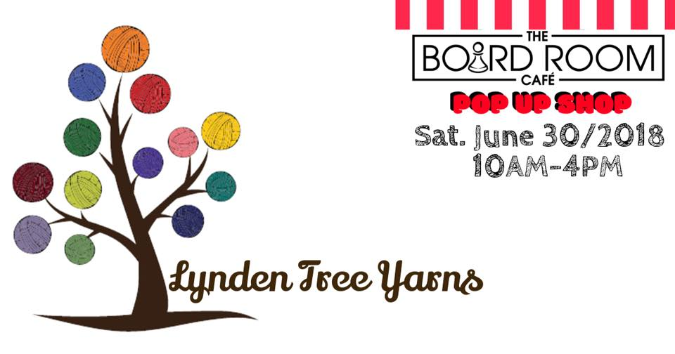 Grand Forks – Lynden Tree Yarns @ The Board Room Cafe