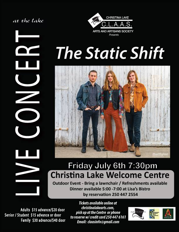 Christina Lake – Static Shift Concert