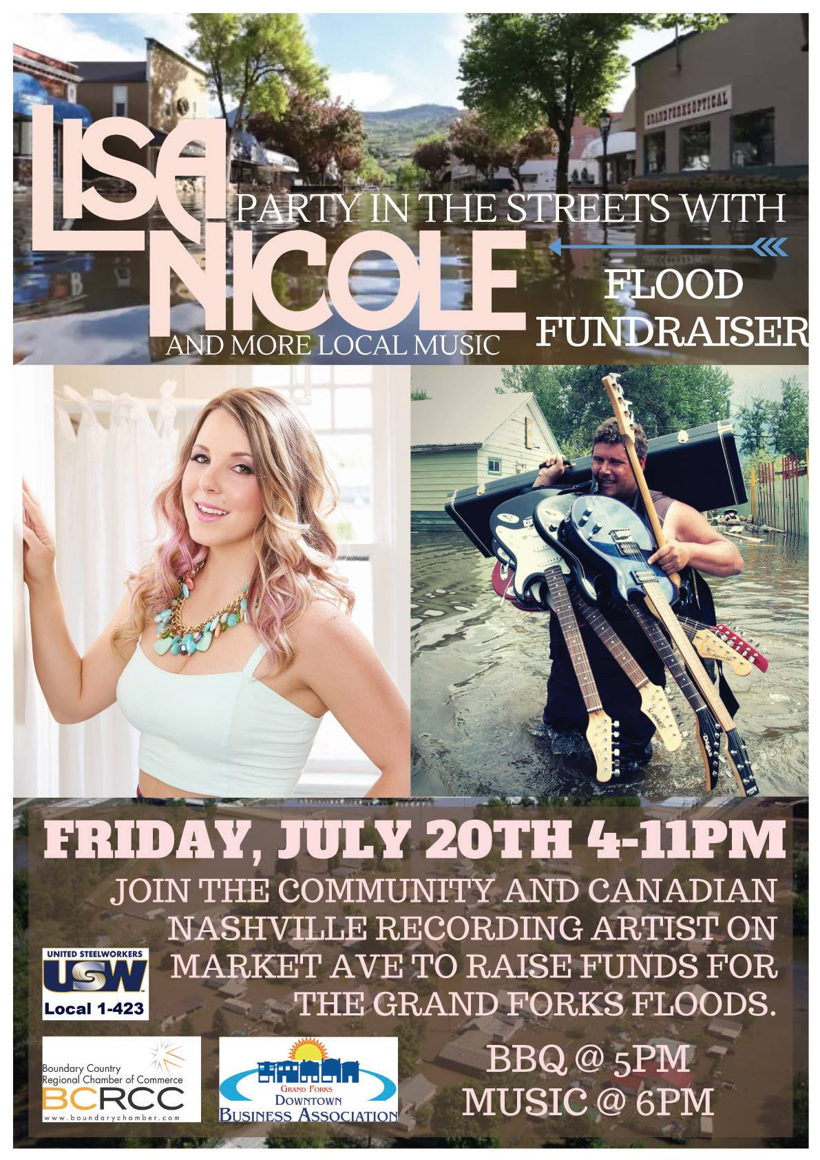 Lisa Nicole – Flood Fundraiser