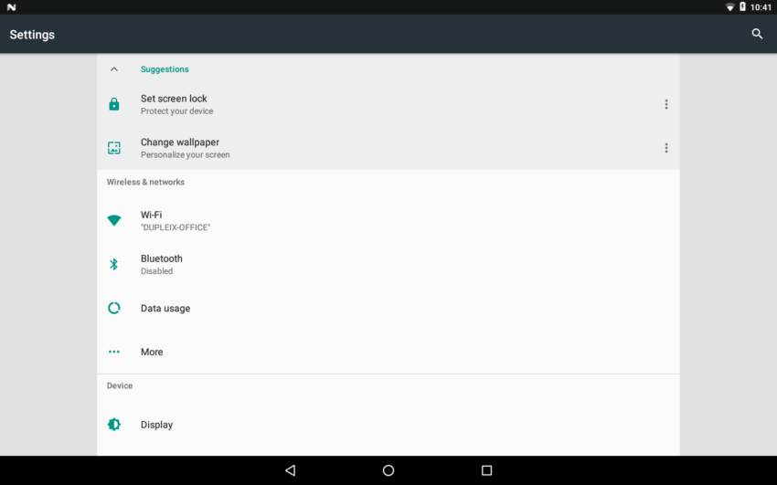 Android Nougat 7 1 1 Release For I Mx6 Boards Boundary