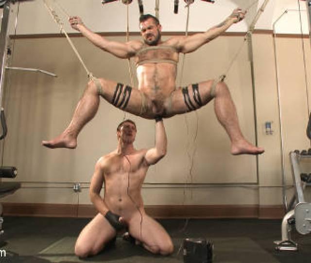Gay Bondage In Gym
