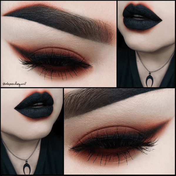 Depechegurl Makeup Look
