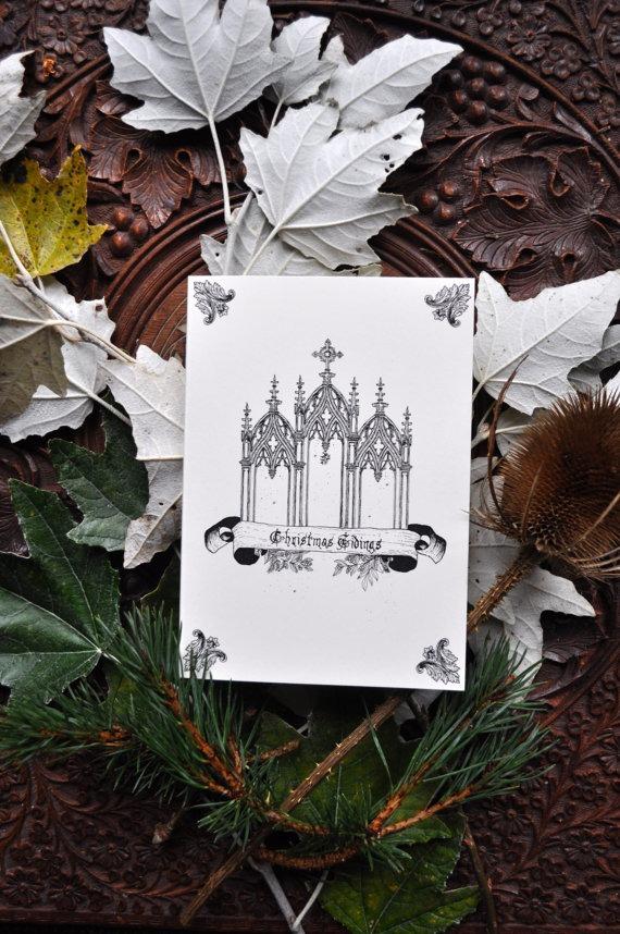 Gothmas: Creepy Christmas Cards | B O U N D | IN | B O N E