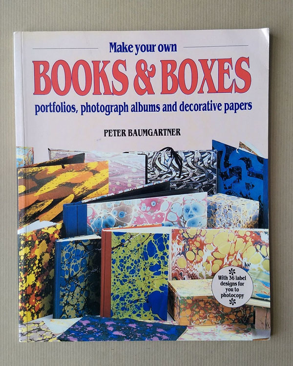 Books And Boxes by Peter Baumgartner