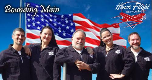 Bounding Main at Stars & Stripes Honor Flight MKE 2021