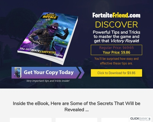 FortniteFriend.com - PRO Guides, Tips and Tricks - The Ultimate Unofficial Guide eBook