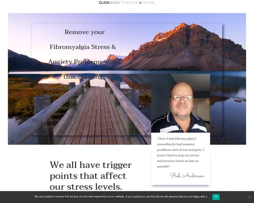 Stress release for people with fibromyalgia | Helping people with fibromyalgia, MS, Chronic fatigue syndrome and more get some relief from extreme stress in their lives