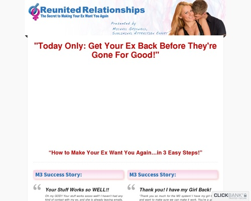 Relationship Advice | How to Get Your Ex Back | The M3 System – 2-cv | LP — Relationship Advice | How to Get Your Ex Back | The M3 System