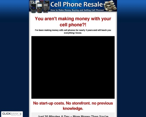 Cell Phone Resale - How to make money buying and selling cell phones!