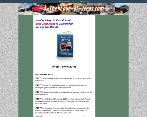 The Best Used Jeeps Buyers Guide!