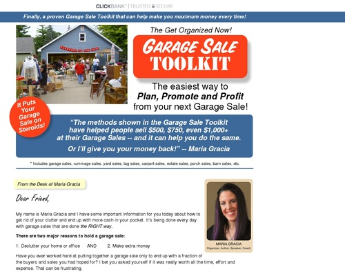 GON Garage Sales Toolkit