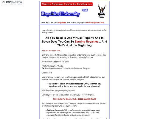 Royalties University - How to Earn Royalties from Intellectual Property