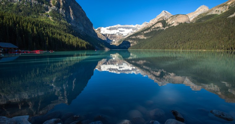 Lake Louise & Hiking the Plain of Six Glaciers Trail | Banff, Canada