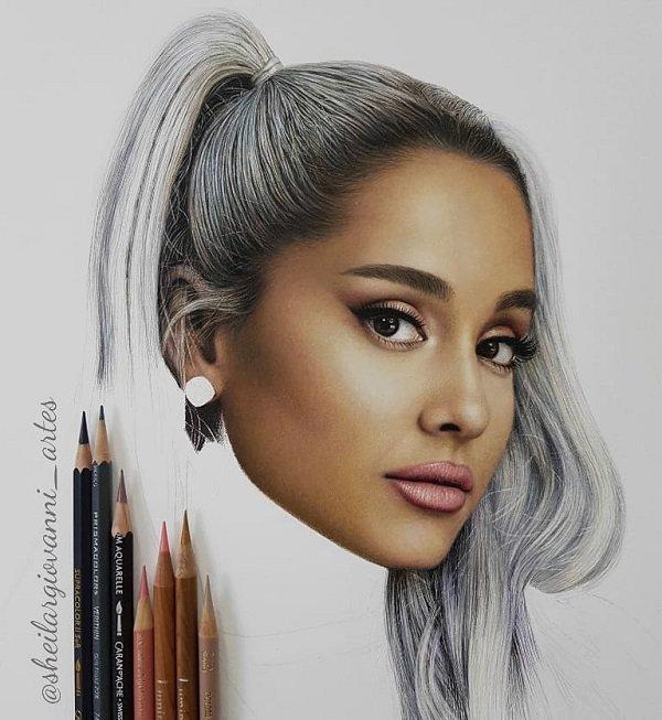Hyper Realistic Pencil Drawing by Sheila R Giovanni