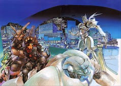 Appleseed Masamune Shirow cover