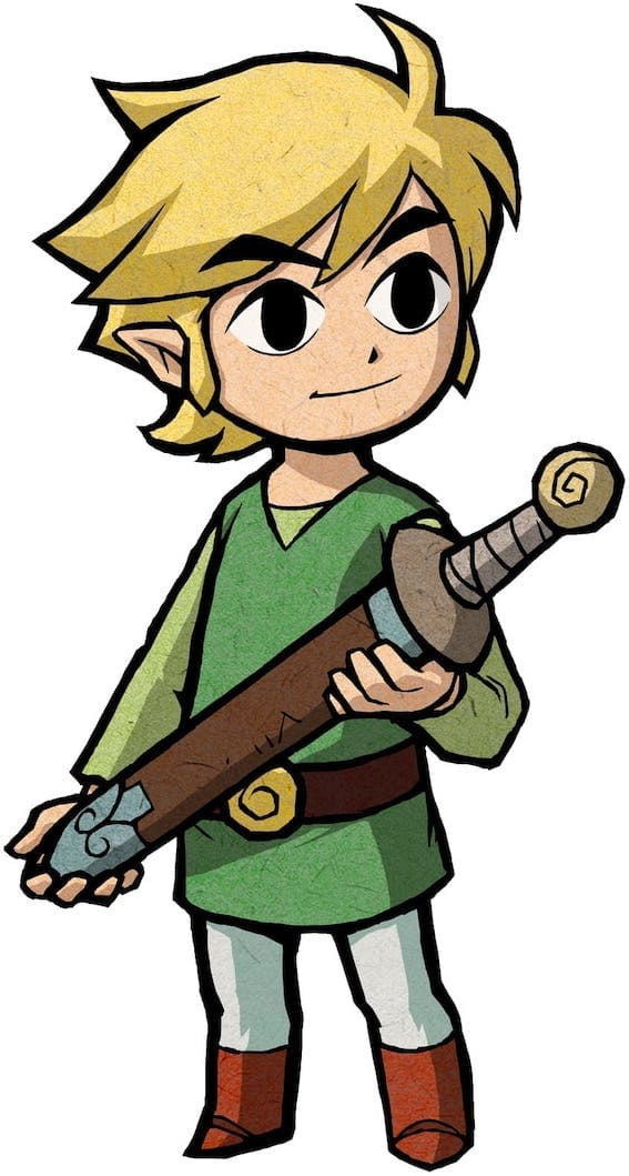 Zelda Link-The-Minish-Cap