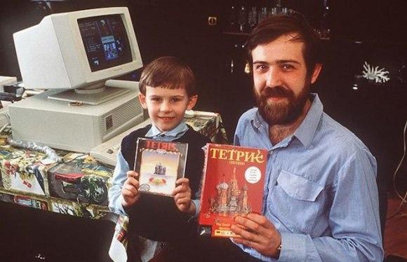 Histoire de Tetris Alexey Pajitnov et son fils