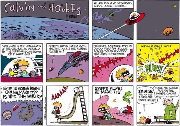 Portrait Bill Watterson créateur de Calvin & Hobbes 14