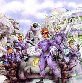 Masamune-Shirow-Dominion-Tank-Police