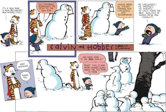 art contemporain Calvin & Hobbes 2