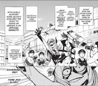 My Hero Academia (Boku no Hīrō Akademia) heros