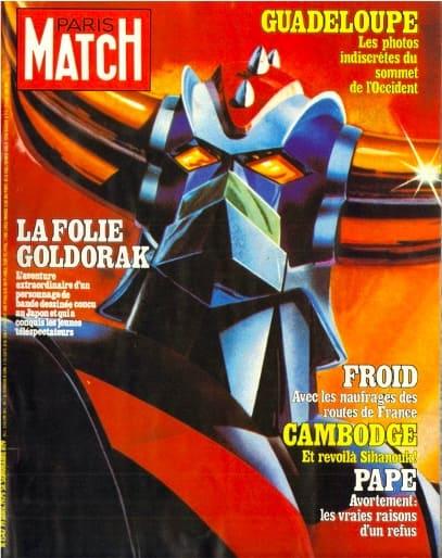 Goldorak et la presse Lui