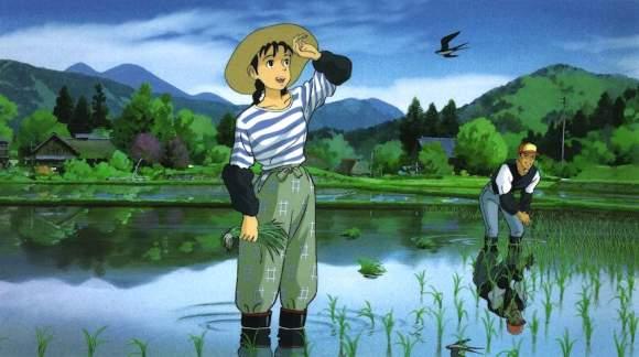 Omohide Poro Poro Femmes Ghibli Miyazaki