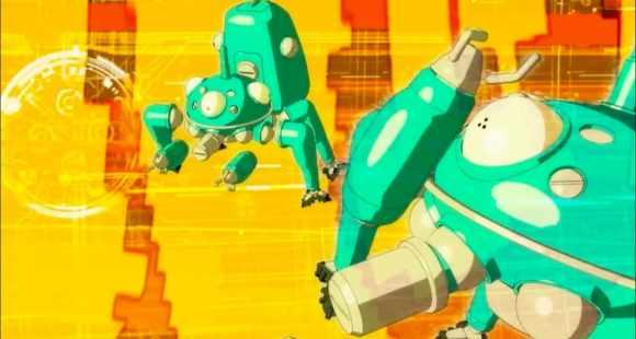 Tachikoma dans le cyberspace