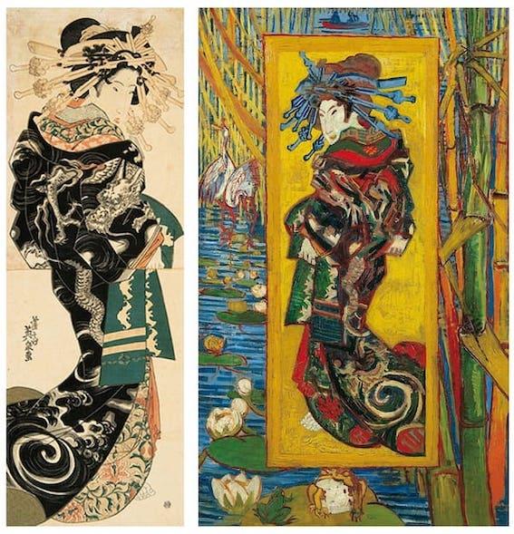 The-Courtesan-Oiran-by-Eisen-Van-Gogh