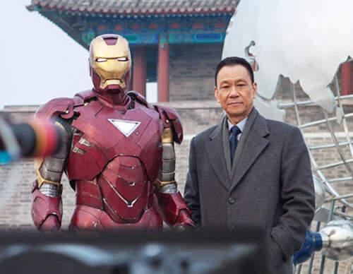 iron man 3 addition Hollywood propagande chinois