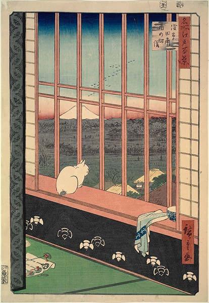 utagawa-hiroshige-asakusa-ricefields-and-torinomachi-festival